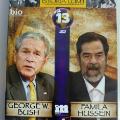 DVD Filmele Adevarul nr 13: George W. Bush; Familia Hussein