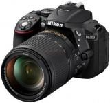 Aparat Foto D-SLR Nikon D5300 (Negru), cu Obiectiv 18-140mm VR, Filmare Full HD, 24.2MP