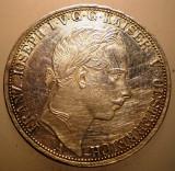 J.243 AUSTRIA FRANZ JOSEPH  1 VEREINSTHALER THALER TALER 1864 A ARGINT 18,5g, Europa