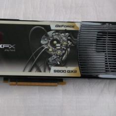 Placa video XFX 9800GX2  Dual Gpu 1gb ddr3 / 512 bits, PCI Express, 1 GB, nVidia