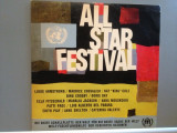 ALL STARS cu : L.Armstrong/Nat King Cole/E.Piaf.....(1973/UNITED/USA) - VINIL