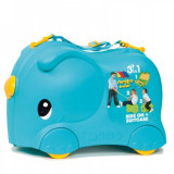 Valiza Ride-on Elephant 3 in 1, Molto