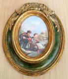 Tablou matase - decorativ / de colectie - model baroc - Fragonard