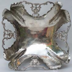 FRUCTIERA VINTAGE CONFECTIONATA DIN COSITOR - ORNAMENTE BAROC DANTELATE - VECHE, Vase