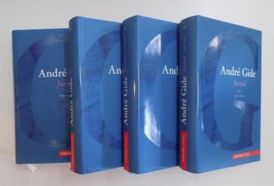 Andre Gide JURNAL 4 volume editie completa cartonata cu supracoperta foto