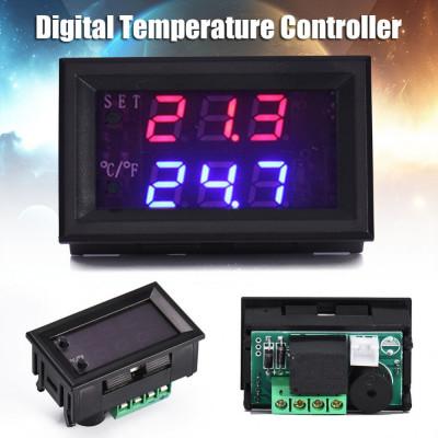 TERMOSTAT electronic DIGITAL CONTROLER temperatura CU SONDA releu 12V foto