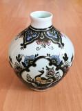 Vaza - decoartiva / de colectie - Villeroy and Boch - Paon - pictat manual