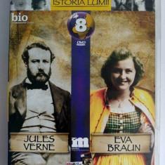 DVD Filmele Adevarul nr 8: Jules Verne; Eva Braun