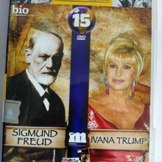 DVD Filmele Adevarul nr 15: Sigmund Freud; Ivana Trump