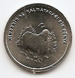 Turcia 500 000 Lira 2002 - Cupru-Nichel,  21 mm, KM-1161 UNC !!!, Asia