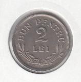 Romania - 2 Lei 1924 - Bruxelles