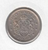Romania - 1 Leu 1924 Bruxelles (Piesa de colectie - Luciu)