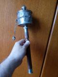 ROATA DE RUGACIUNE - PRAYING WHEEL - OBIECT DE CULT BUDIST -  DIN NEPAL