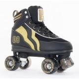 Patine cu rotile Rio Roller Varsity black/gold, 40,5