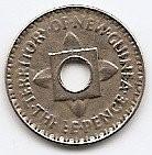 Noua Guinee 3 Pence 1944 - George VI, Cupro-nichel, 16.34 Mm Km-10 (4)