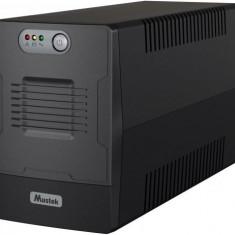 UPS Mustek PowerMust 1500 Line, 1500VA / 900W, Schuko