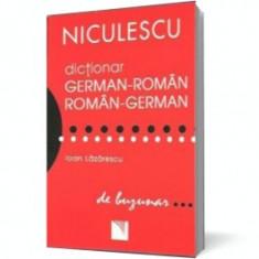 Dicţionar german-român / român-german (ediţie de buzunar), niculescu