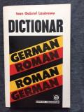Dictionar German - Roman, Roman - German, Ioan Lazarescu-10