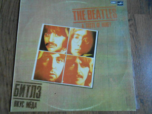 LP The Beatles – A taste of honey