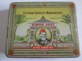 Cumpara ieftin Pachet gol din tabla/litho colectie 20 tigari Simon Arzt din anii 30