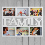 Rama Foto Family (6 fotografii) - Tablou canvas
