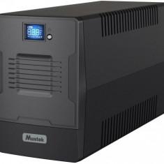 UPS Mustek PowerMust 1500 LCD Line, 1500VA/900W, IEC, Schuko