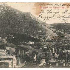 (A) carte postala-BRASOV  anul 1909, Necirculata, Printata