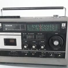 RADIO CASETOFON  AIMOR ST-8000FS2 MADE IN JAPAN , RARITATE , DEFECT .