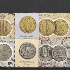 Romania ,monede de aur cu TAPS  2014,  Nr lista ., Nestampilat