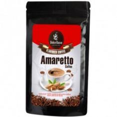 Cafea macinata cu aroma de amaretto, 125 grame
