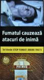 Tigari de foi PRIMUS 42.5gr X 10 + PRIMUS MENTHOL 100 X 2