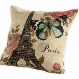 FATA DE PERNA 40X40 CM PARIS - Perna decorativa