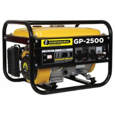 Generator electric Gospodarul Profesionist GP-2500 2200W , 6.5cp, pe benzina, Generatoare uz general