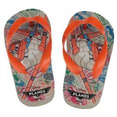 Papuci copii, slapi de plaja Disney Planes , multicolor , 24