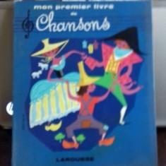 MON PREMIER LIVRE DE CHANSONS - HELENE POIRIE (PRIMA MEA CARTE CU CANTECE)