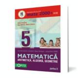 Mate 2000+11/12 cls 5 Partea II Aritmetică, Algebră, Geometrie, Clasa 5, Matematica, paralela 45
