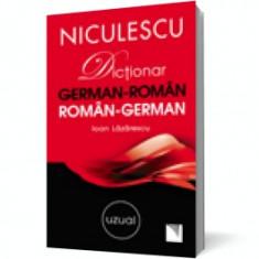 Dictionar german-roman/roman-german: uzual, niculescu