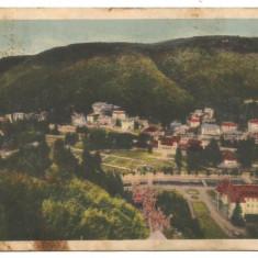 (A) carte postala-SLANIC MOLDOVA vedere generala 1939, Necirculata, Printata