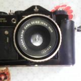 Aparat-foto-zenit-TTL-VINTAGE+blitz-fil-16-norma+alimentator-baterii