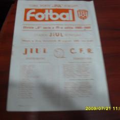 program          Jiul   -  CFR  Timisoara