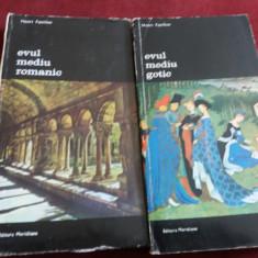 HENRI FOCILLON - EVUL MEDIU GOTIC / EVUL MEDIU ROMANIC 2 VOLUME