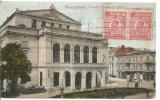 (A) carte postala-BUCURESTI -Teatrul National vechi.cel care a fost bombardat