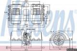Ventilator aeroterma interior habitaclu MAN TGL Producator NISSENS 87133