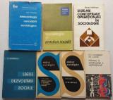 Sociologia - Lot 7 Carti Sociologie