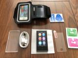 Ipod Nano 7th Gen 16GB NOU+cablu+folie sticla+armband sau husa,bluetooth,radio., 7th generation, 16 Gb, Negru