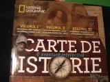CARTE DE ISTORIE-VOL1+2+3-IN CASETA-MARCUS COWPER-NATIONAL GEOGRAFIC-, Alta editura