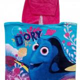 Prosop tip poncho pentru copii, Disney Dory , 3/6ani , 50 cm, Multicolor, Unisex