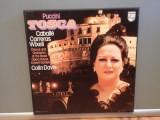 PUCCINI – TOSCA – 2LP BOX (1976/PHILIPS/HOLLAND) - Vinil/Opera/Impecabil