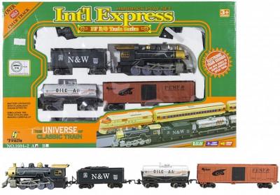 Pista de tren cu baterii International Express foto