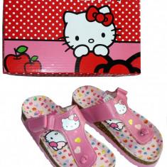 Sandale copii cu brant anatomic , Hello Kitty , 25,26,27,28,29,31,32,33,34,35,36, Fete, Roz